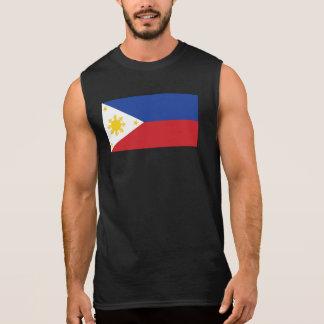 Filipino Flag Sleeveless Shirt