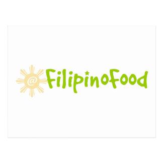 Filipino Food Postcard