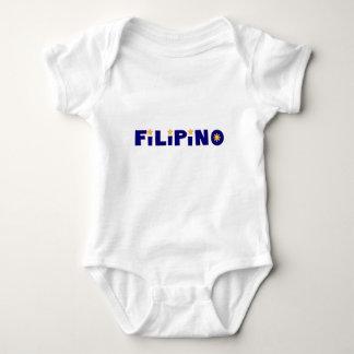 filipino infant baby bodysuit