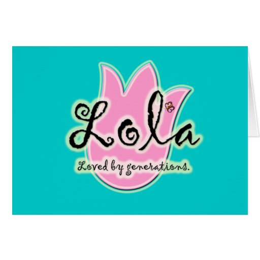 Filipino Lola Loved by Generations Greeting Card