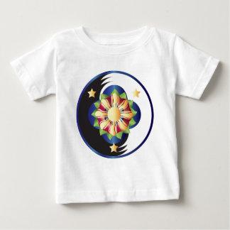 Filipino Lotus Flower Mandala Baby T-Shirt