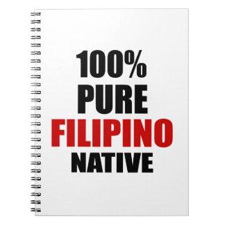 FILIPINO NATIVE SPIRAL NOTE BOOKS