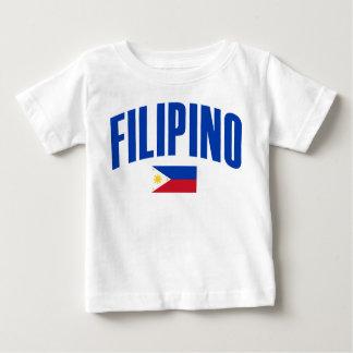 Filipino Philippine Flag Baby T-Shirt