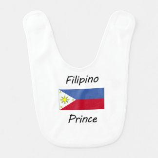 Filipino Prince Baby Bib