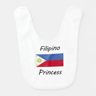 Filipino Princess Baby Bib