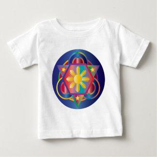 Filipino Rainbow Mandala Baby T-Shirt