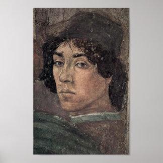 Filippino Lippi - Self-portrait of the artist Poster