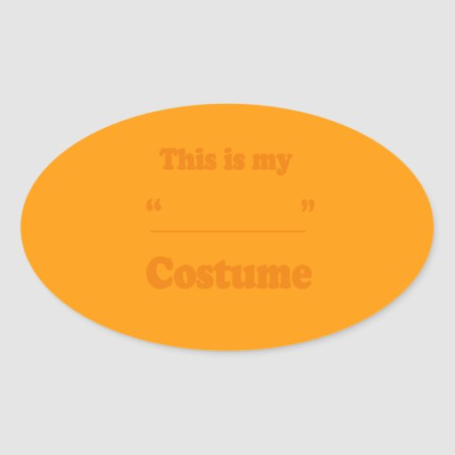 FILL IN THE BLANK COSTUME - Halloween -.png Sticker