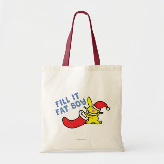 Fill It Fat Boy Tote Bag