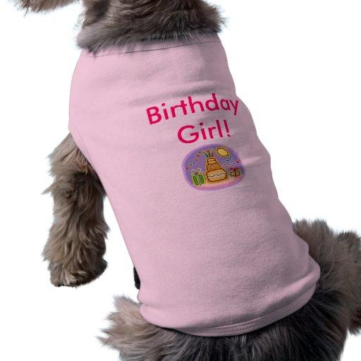 Fille d'anniversaire ! manteau pour animal domestique