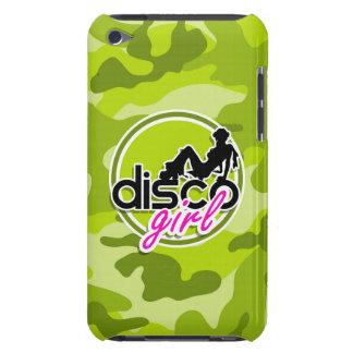 Fille de disco camo vert clair camouflage coque iPod touch Case-Mate