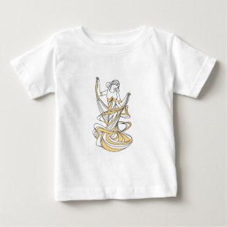 fille de fée de danse t-shirt pour bébé