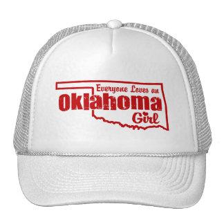 Fille de l'Oklahoma Casquette De Camionneur