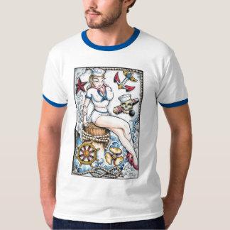 Fille de marin tshirts