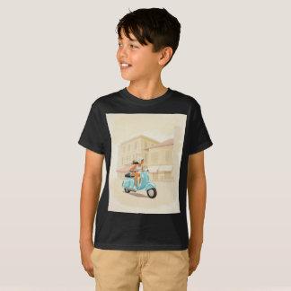 Fille de scooter t-shirt