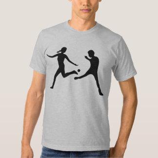Fille et garçon de Hackysack, noirs Tee Shirt
