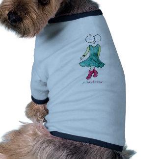 Fille impertinente t-shirts pour animaux domestiques