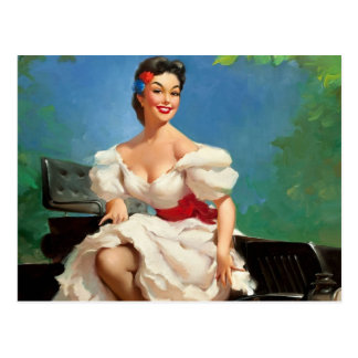 Fille Pin- mexicaine Cartes Postales