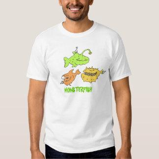 filles de chemise de monsterfishkids t-shirt