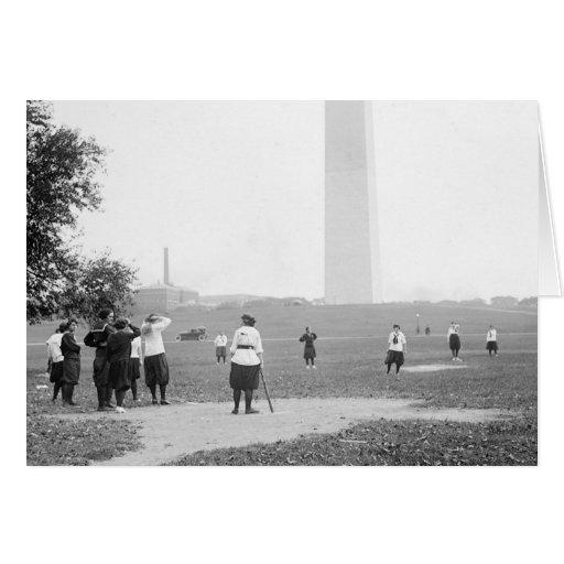 Filles Softball, 1919 Carte