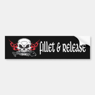 Fillet & Release Bumper Sticker