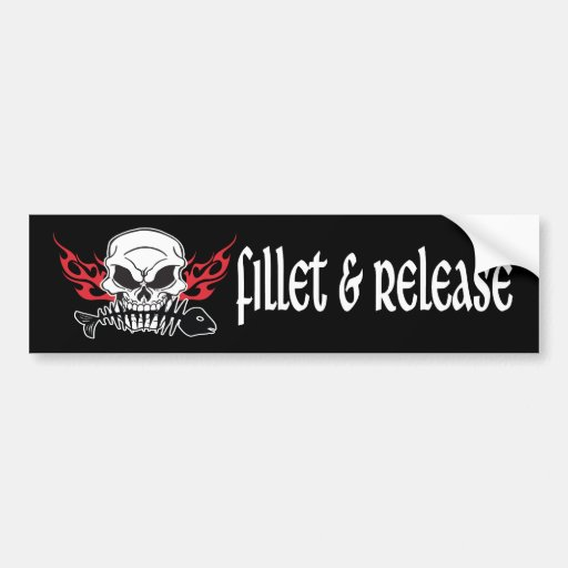 Fillet & Release Bumper Stickers