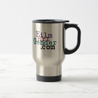 FILM * ART * GENDER travel mug