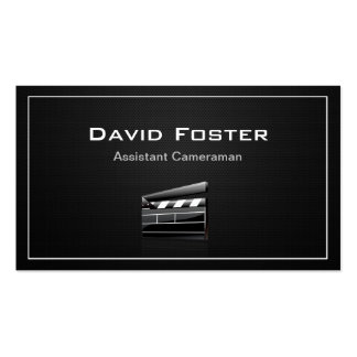 Film Assistant Cameraman Director Business Cards