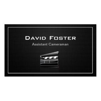 Film Assistant Cameraman Director Business Cards