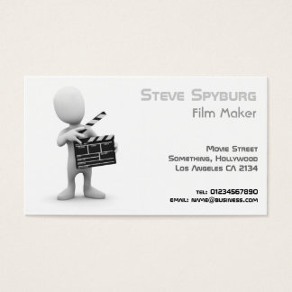 Film Business Movie Maker Business Card