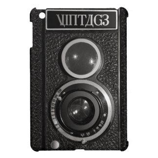 Film Camera Black Chrome Vintage iPad Mini Case