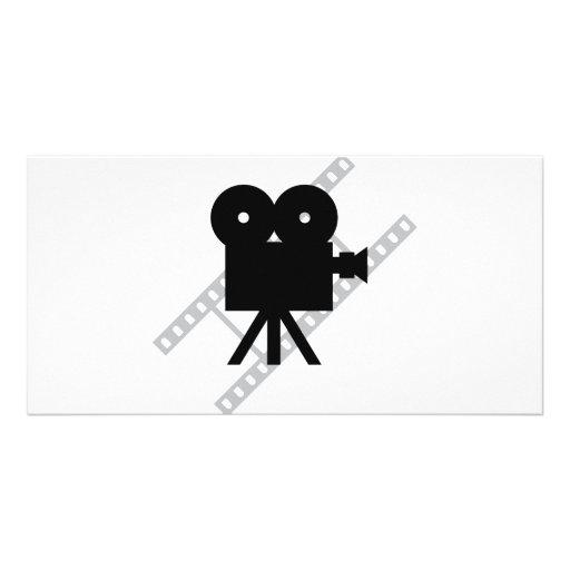 film camera icon custom photo card