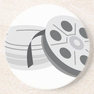 Film Cans Drink Coaster