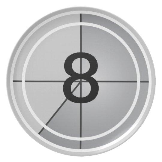 Film Countdown Plate
