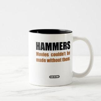 "Film Crew : ""Hammers"" Two-Tone Coffee Mug"