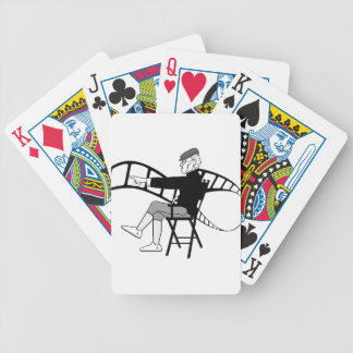 Film Director Bicycle Playing Cards