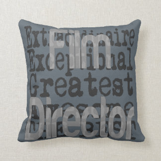 Film Director Extraordinaire Throw Pillow