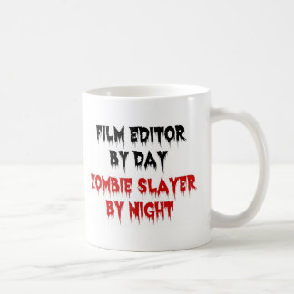 Film Editor Zombie Slayer Coffee Mug