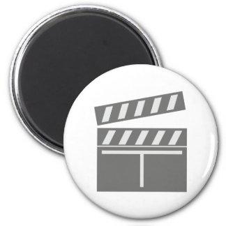 Film flap folds clapperboard refrigerator magnets