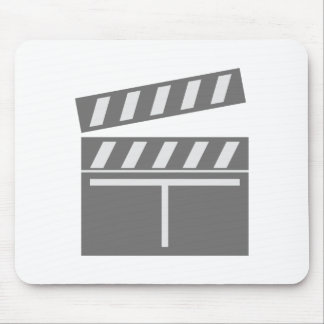 Film flap folds clapperboard mouse pad