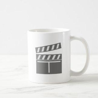 Film flap folds clapperboard mug