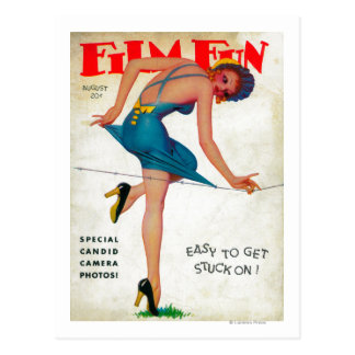 Film Fun Magazine Cover 7 Postcard