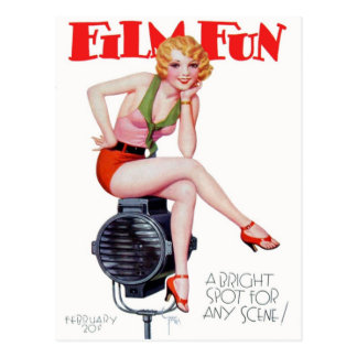 Film Fun! Postcard