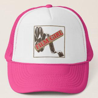 FILM GIRL LOGO 4 TRUCKER HAT