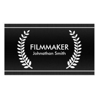 Film Laurels Classy Business Cards for Filmmakers