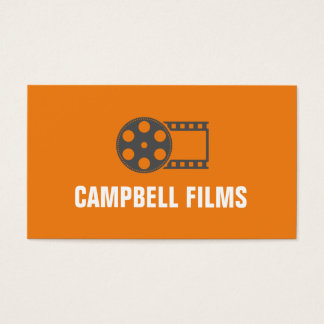 movie producer business cards and business card templates