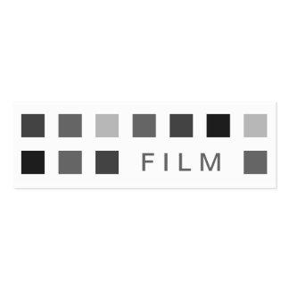 FILM (mod squares) Mini Business Card