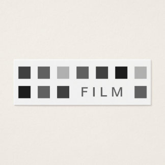 FILM (mod squares) Mini Business Card