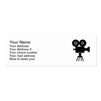 Film movie camera business card