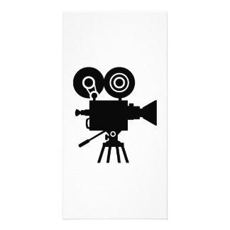 Film movie camera personalized photo card
